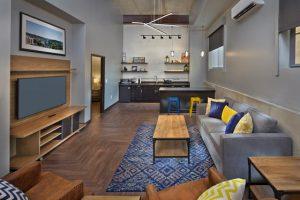 Scholar Morgantown ADA Suite Living Room