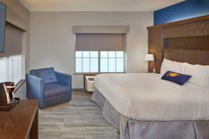 Scholar Morgantown Corner Suite Bedroom Area