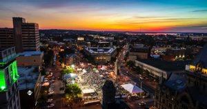 Syracuse Blues Fest Sunset